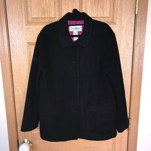 LL Bean Insulated Blazer Thinsulate Ultra Lined